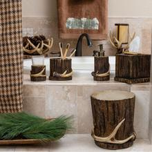 6 PC Antler Vanity Set