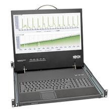1U Rack-Mount Console with 19-in. LCD, Short-Depth; TAA Compliant