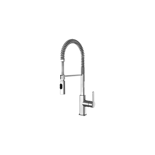 Julien - Peak 306206 - topmount Kitchen faucet , Polished Chrome