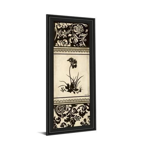 """Garden Shadow I"" By Kimberly Poloson Framed Print Wall Art"