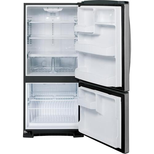 GE® 20.3 Cu. Ft. Bottom Freezer Refrigerator