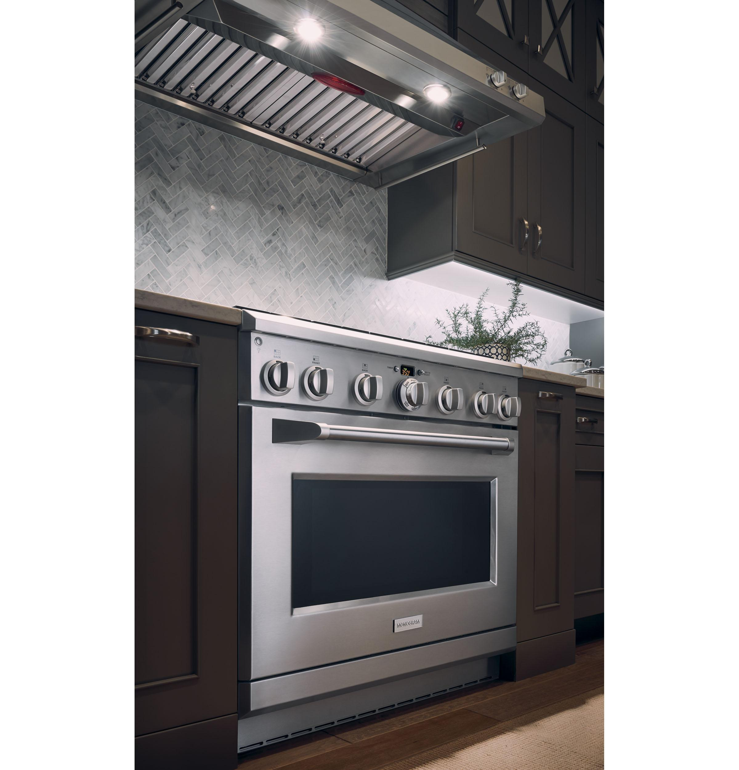"36"" Stainless Steel Professional Hood Photo #5"
