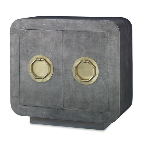 Shagreen Two Door Cabinet - Venetian