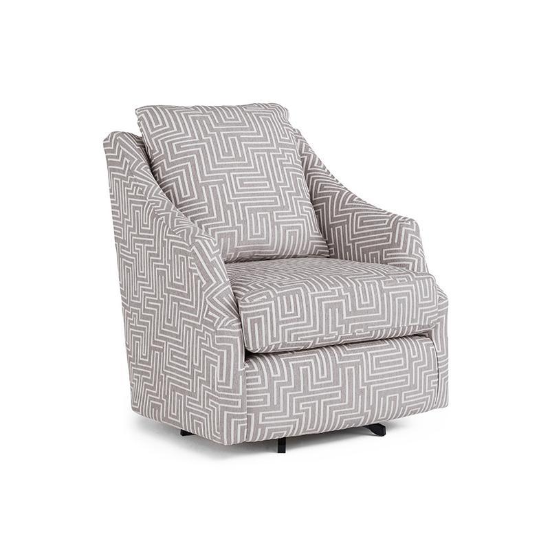 FLUTTER Swivel Barrel Chair