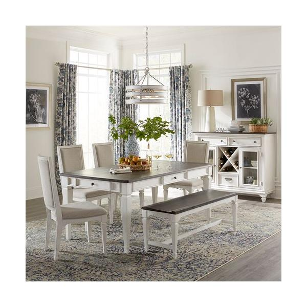 Alternate 6 Piece Rectangular Table Set