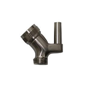 Showerhaus brass swivel shower arm mount for use with connector model number WH172A. Product Image