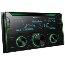 Double-DIN In-Dash CD Receiver with Bluetooth® and SiriusXM® Ready