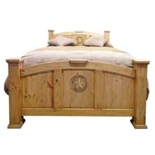 Econo Queen Bed W/ Star