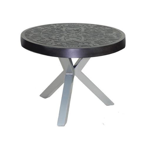 """Castelle - 26"""" Altra Round Occasional Table"""