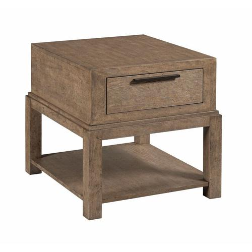 Hammary - EVANS DRAWER END TABLE