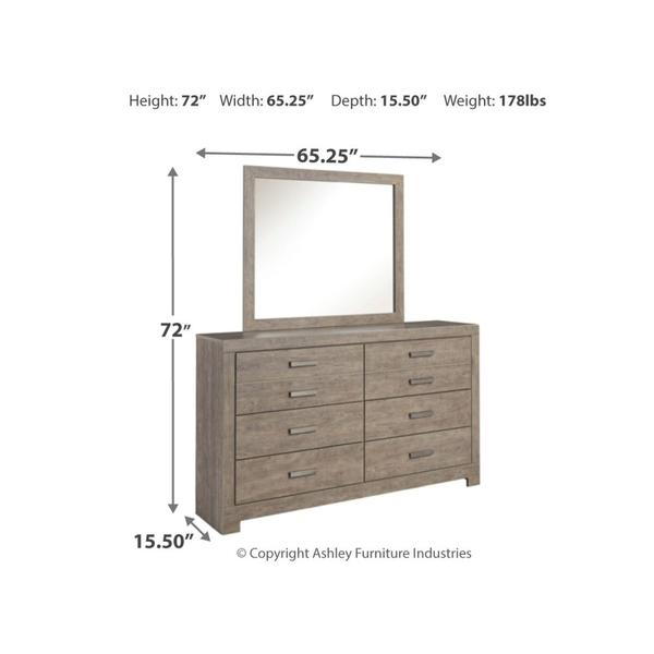 Culverbach Dresser and Mirror