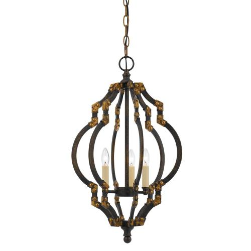 40W X 3 Howell Metal Pendant