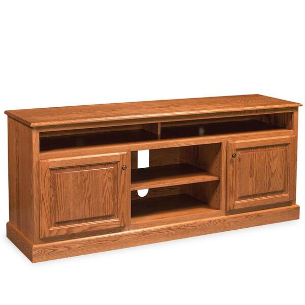 "See Details - Classic TV Stand with Soundbar Shelf, 55 ""w x 18 ""d x 32 ""h"