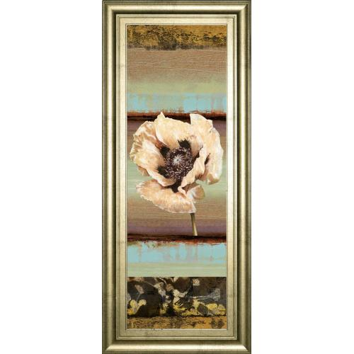 """""""Elemental Poppy I"""" By Selina Werbelow Framed Print Wall Art"""