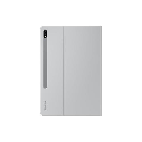 Galaxy Tab S7+ Bookcover - Mystic Silver