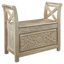 See Details - Fossil Ridge Accent Bench