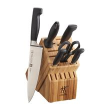 Zwilling Four Star Knife Block Set, 7-Piece