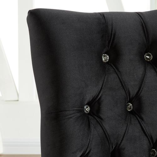 Cavalli Accent/Dining Chair in Black