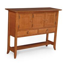 Shaker Hill Open Sideboard