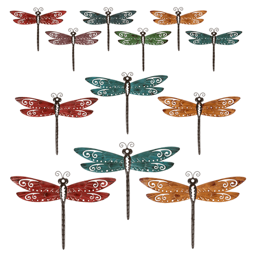 Dragonfly Wall Decor Assortment (21 pc. assortment)