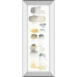 """Watercolor Swatch Panel Neutral I"" By Elyse De Neige Mirror Framed Print Wall Art"