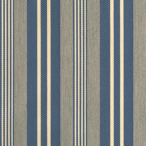 Marlowe Stripe Blue Fabric