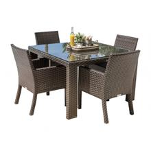 Samoa 5 PC Armchair Dining Set