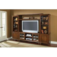 See Details - Grand Bay Entertainment Large Wall Unit - Pine
