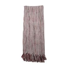See Details - Hand Woven Lorraine Throw Mauve