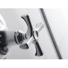 See Details - Pressure Balance Trim with Diverter, Cross Handle - Nickel Silver