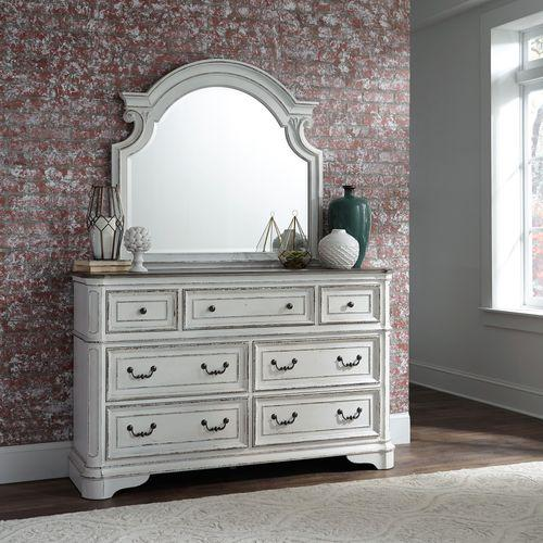 Gallery - King California Panel Bed, Dresser & Mirror, Chest, Night Stand