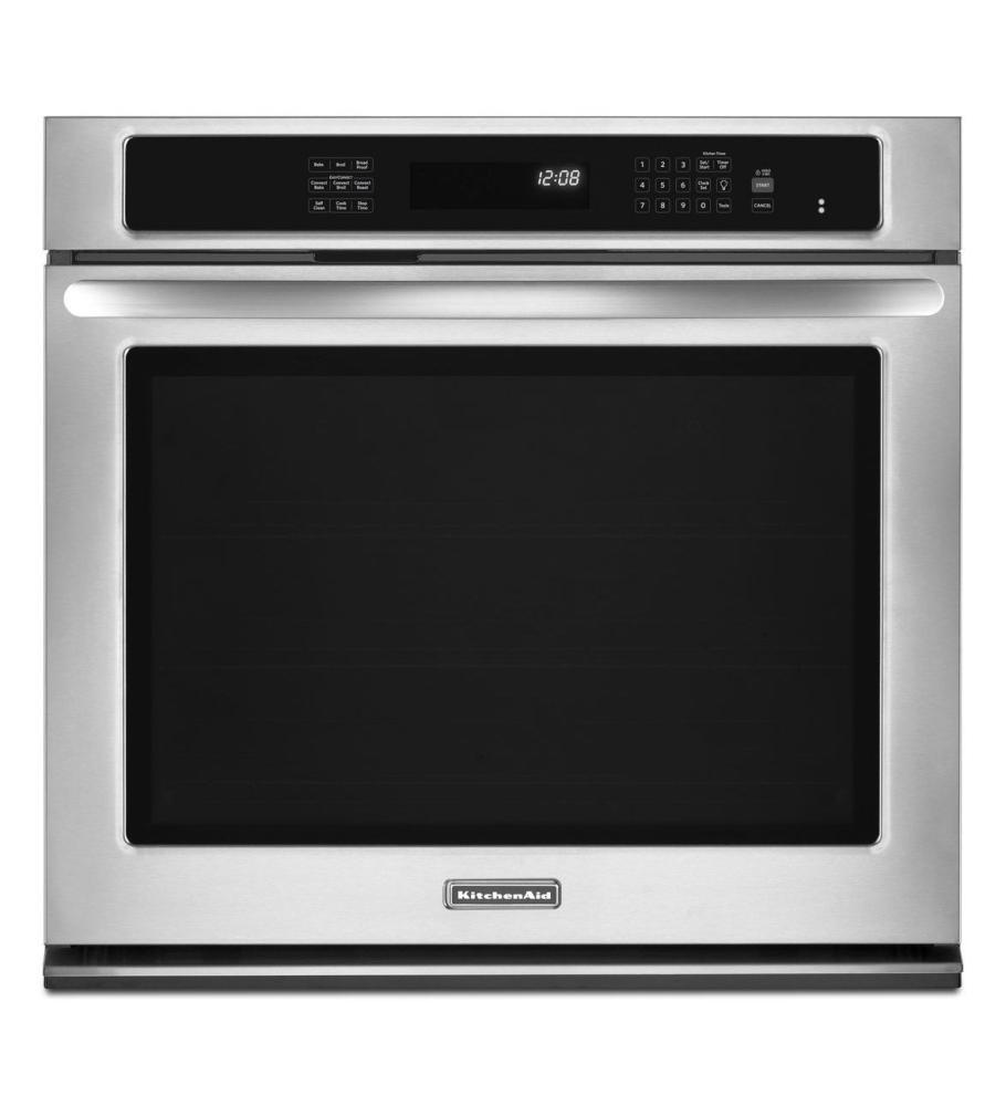 Kitchenaid30-Inch Convection Single Wall Oven, Architect® Series Ii - Stainless Steel