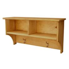 See Details - 2-Cube Cubby Shelf