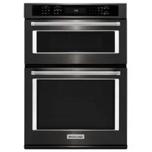"27"" Combination Wall Oven with Even-Heat™ True Convection (lower oven) - Black Stainless Steel with PrintShield™ Finish"