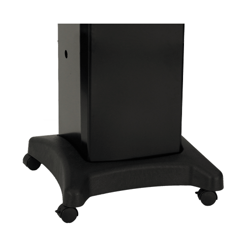 Black Painted Steel Cart DCB1