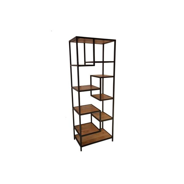 See Details - Delancy Offset Bookshelf, ART-3263