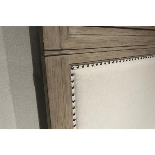 Myra - California King Bed Rails - Natural Finish