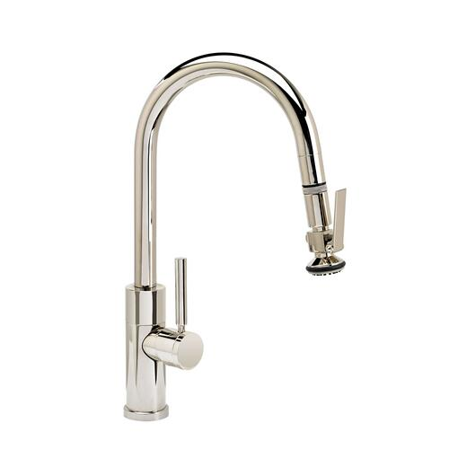 Modern Prep Size PLP Pulldown Faucet - Angled Spout - 9990 - Waterstone Luxury Kitchen Faucets