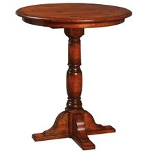 """36"""" Innkeepers Counter Height Single Pedestal Table"""