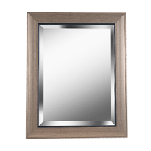 See Details - Ellory - Beveled Mirror with Champagne and Black Frame