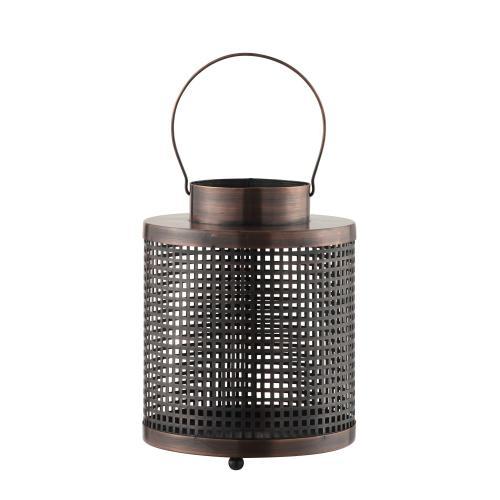 Crestview Collections - Finn Medium Lantern Candle Holder