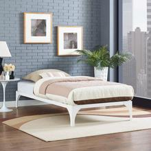 View Product - Ollie Twin Bed Frame in White