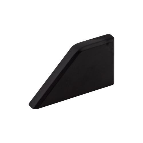 Top Knobs - Tapered Knob 1 Inch (c-c) Flat Black