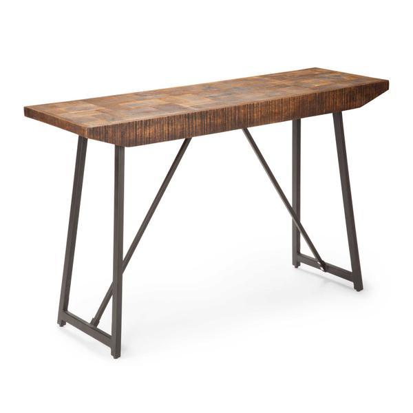 See Details - Walden Parquet Sofa Table