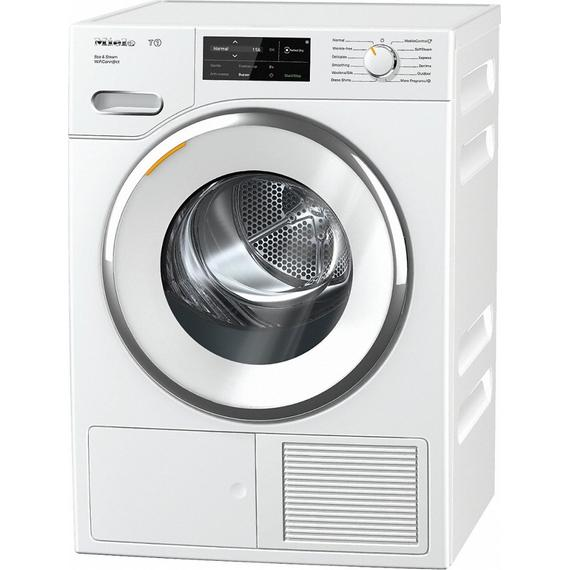 Miele - TWI180 WP Eco&Steam WiFiConn. T1 Heat-pump tumble dryer with WiFiConn@ct, FragranceDos, and SteamFinish.