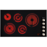 MieleKM 5627 208V - Electric cooktop with a width of 36 1/8 (915) in (mm) 36 1/8 (915) in (mm) for ultra-convenient cooking.