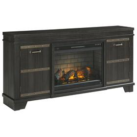 """See Details - Noorbrook 72"""" TV Stand With Electric Fireplace"""