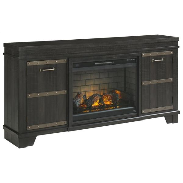 "Noorbrook 72"" TV Stand With Electric Fireplace"
