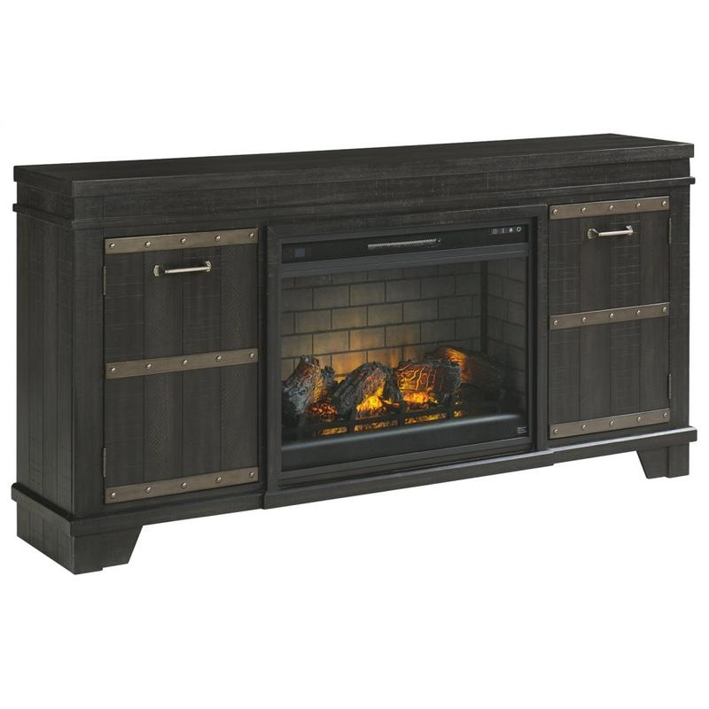 """View Product - Noorbrook 72"""" TV Stand With Electric Fireplace"""