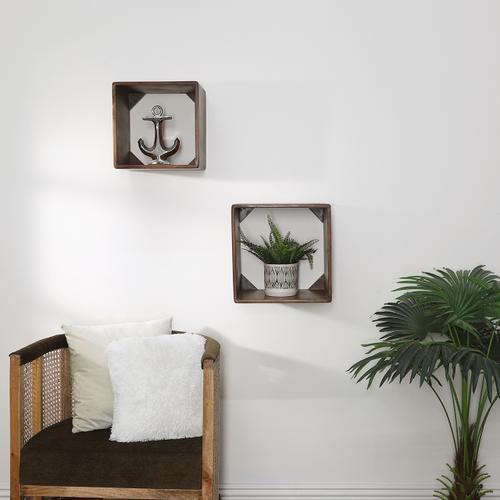 "Sagebrook Home - Silver Ceramic Anchor 10"""